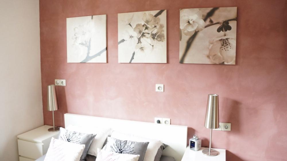 Peinture rose chambre comment peindre mur douche et salle de bain facilement u2013 nice maison for Peinture beige rose